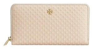 Tory Burch Tory Burch Marion Embossed Leather Zip Continental Wallet