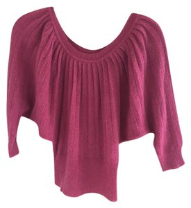 Moda International Dolman Sleeves Mohair Sweater