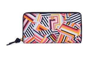 Tory Burch KERRINGTON ZIP CONTINENTAL WALLET cut out t print