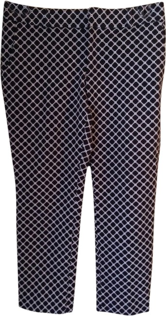 Banana Republic Capris Black and white