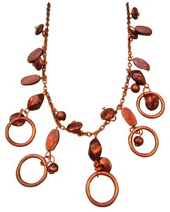 Other Bronze Vintage Necklace & Earring Set