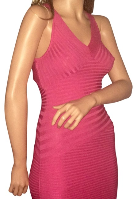 Preload https://item2.tradesy.com/images/pink-bandage-above-knee-cocktail-dress-size-2-xs-1995341-0-2.jpg?width=400&height=650