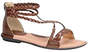 B.O.C. Woven Summer Spring Brown Sandals