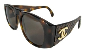 Chanel Tortoise Brown & Gold Metal