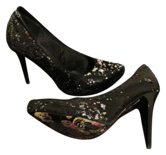 Preload https://img-static.tradesy.com/item/199536/ed-hardy-black-and-silver-madrid-and-sequins-only-worn-once-pumps-size-us-10-0-0-540-540.jpg