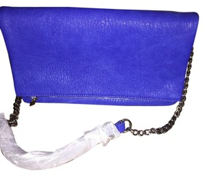 Express Royal blue Clutch