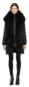 Mackage Shearling Long Down Coat