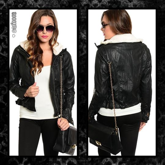 New Faux Style Removable Lining Leather Jacket #19953757 - Jackets new