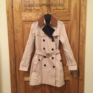 Coach Trench Coat Classic Khaki Jacket