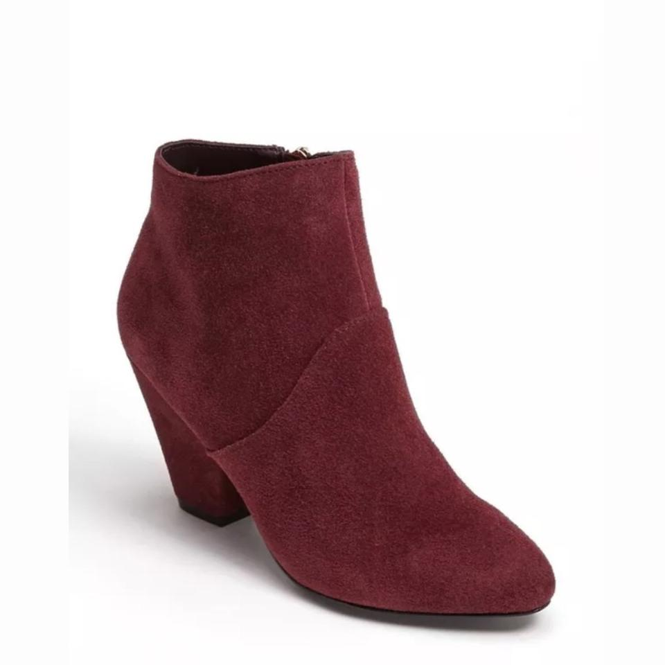 Dolce Vita Burgundy Suede Gila Boots/Booties Ankle Boots/Booties Gila 257fce