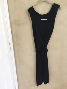 Diane von Furstenberg Sleeveless Lbd Wrap-around Dress