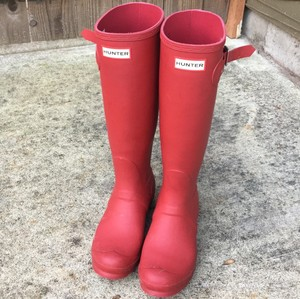 Hunter Red Boots
