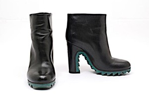 Jil Sander Pull On Black Boots