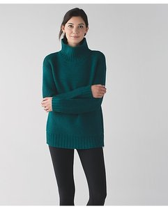 Lululemon Yoga Oversized Turtleneck Pocket Sweater