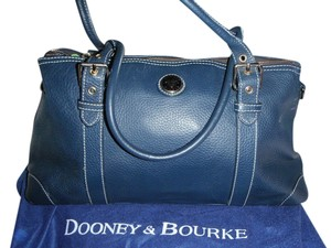 Dooney & Bourke Satchel in Navy