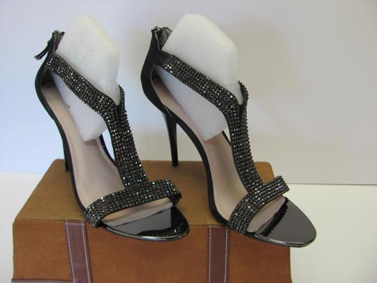 Glint New Size 12.oo M Excellent Condition Black Sandals Image 3