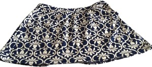 Lands' End Moroccan Print short skirt