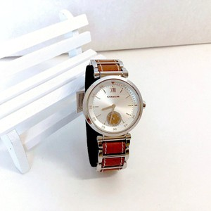 Coach Coach Stainless Steel/Brown Leather Watch #14502032