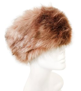Chic Warm Neutral Brown Fur Winter Hat