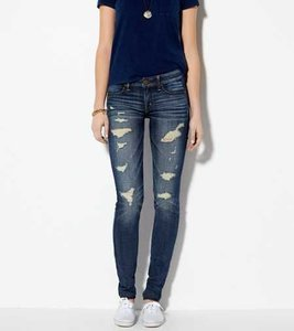 American Eagle Outfitters Distressed Jeggings-Distressed