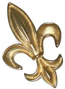 Other Gold Fleur de Lis Pin (Brooch)