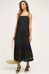 Black Maxi Dress by Anthropologie