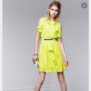Prabal Gurung for Target short dress Neon Green on Tradesy