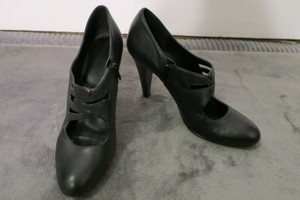 Calvin Klein Bootie Work Professional Black Pumps