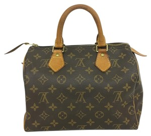 Louis Vuitton Lv Speedy 25 Canvas Tote in Monogram