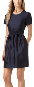 Burberry short dress Dark Blue on Tradesy