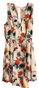 Rebecca Taylor short dress Pink blue orange on Tradesy