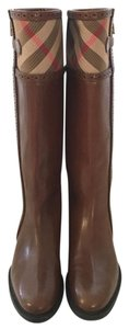 Burberry Chestnut Brown Boots