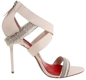 Charles Jourdan White leather Sandals