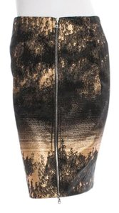 Yigal Azroul Skirt Black and Gold