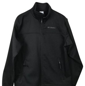 Columbia Sportswear Company MENS COLUMBIA BLACK JACKET