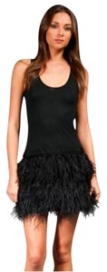 Haute Hippie Ostrich Feathers Feathers Dress