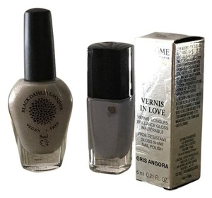 Lancome Vernis In Love Gris Angora + Black Dahlia Lilly Of The Valley