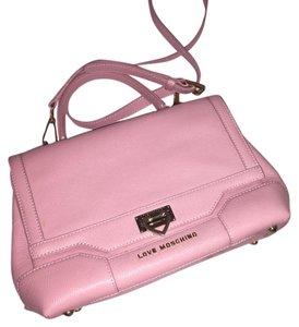 Love Moschino Satchel in Pink
