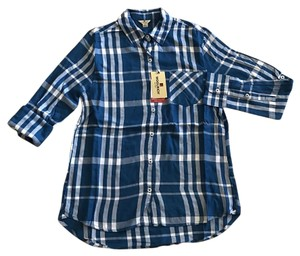 Woolrich Button Down Shirt Blue