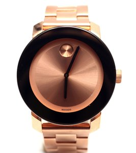 Movado 36mm Rose Gold