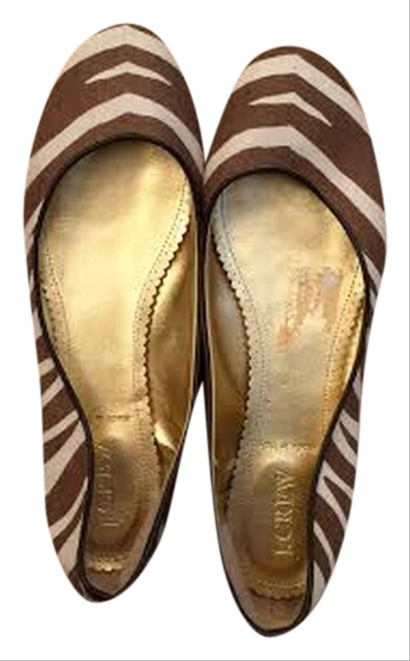 Crew Flats Coconut Shell and J Brown Creme adwaFR