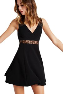 BCBGeneration Lace V-neck Lbd Dress