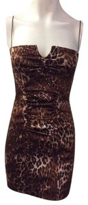 Nicole Miller Cheetah Dress