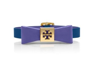 Tory Burch Tory Burch Bow Bracelet Purple