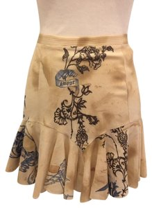 Roberto Cavalli Mini Skirt brown