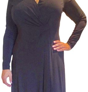Armani Collezioni Jersey Lbd Evening Dress