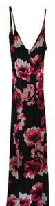 Black and red Maxi Dress by Charlotte Russe