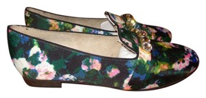 BC Footwear Floral Jewels Multi Flats