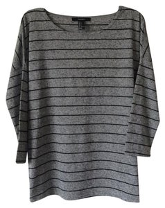 Forever 21 Top Grey with black stripes