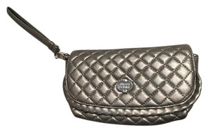 A|X Armani Exchange Quilted Bronze Clutch